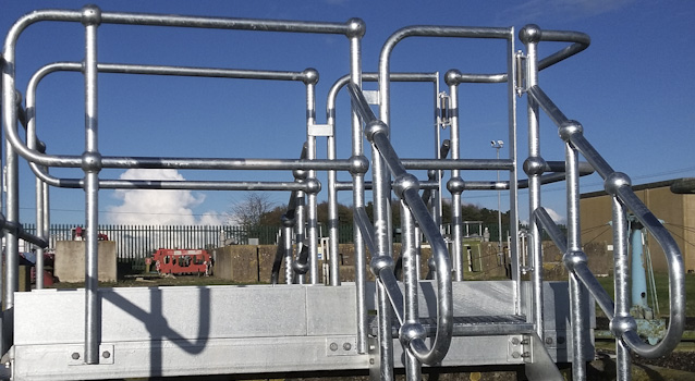 Industrial Standards Handrail Stainless Steel Systems