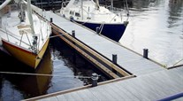 Gratings for marinas and docks